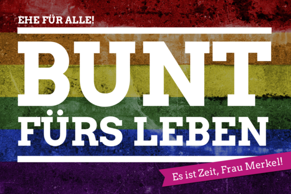 #Ehefueralle Kampagne