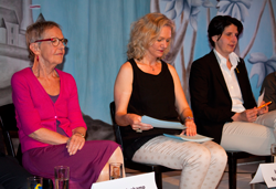 Podiumsdiskussion: Inge von Bönninghausen, Sina Vogt, Imke Duplitzer