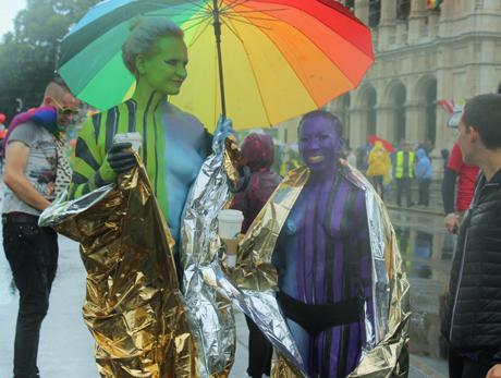 Wien wird lesbischer: Geschichte meets Pride