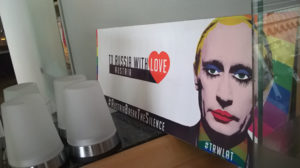 Vienna Pride Parade, Putin-Protest: To Russia with Love, © Larissa