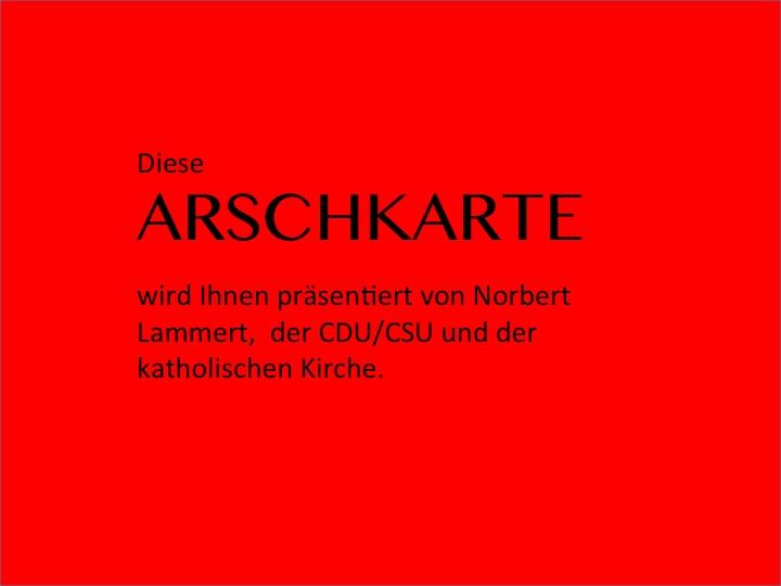 ArschkarteCDU