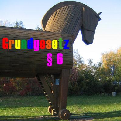 Trojanisches Pferd lockt mit Verfassungsrang für Lebenspartnerschaft
