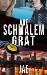 "Cover ""Auf schmalem Grad"" von JAE, Ylva Verlag"