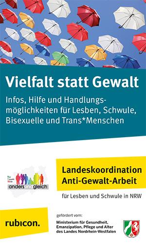 Anzeige Landeskoordination Anti-Gewalt-Arbeit NRW