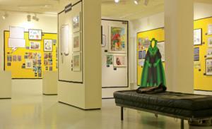 SuperQueeroes, Blick in die Ausstellung, ©robertm.de