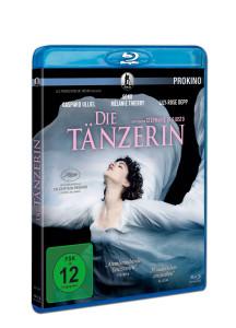 """Blu-Ray Cover in 3D von """"Die Tänzerin"""""""