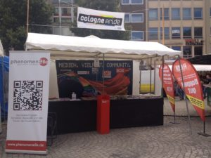 Medienstand ColognePride