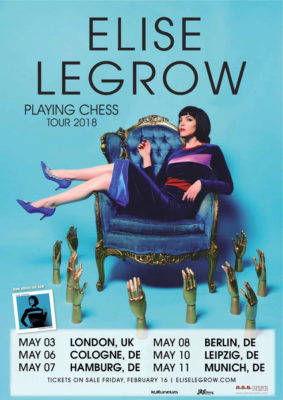 "CD-Vorstellung und Interview: Elise LeGrow ""Playing Chess"""