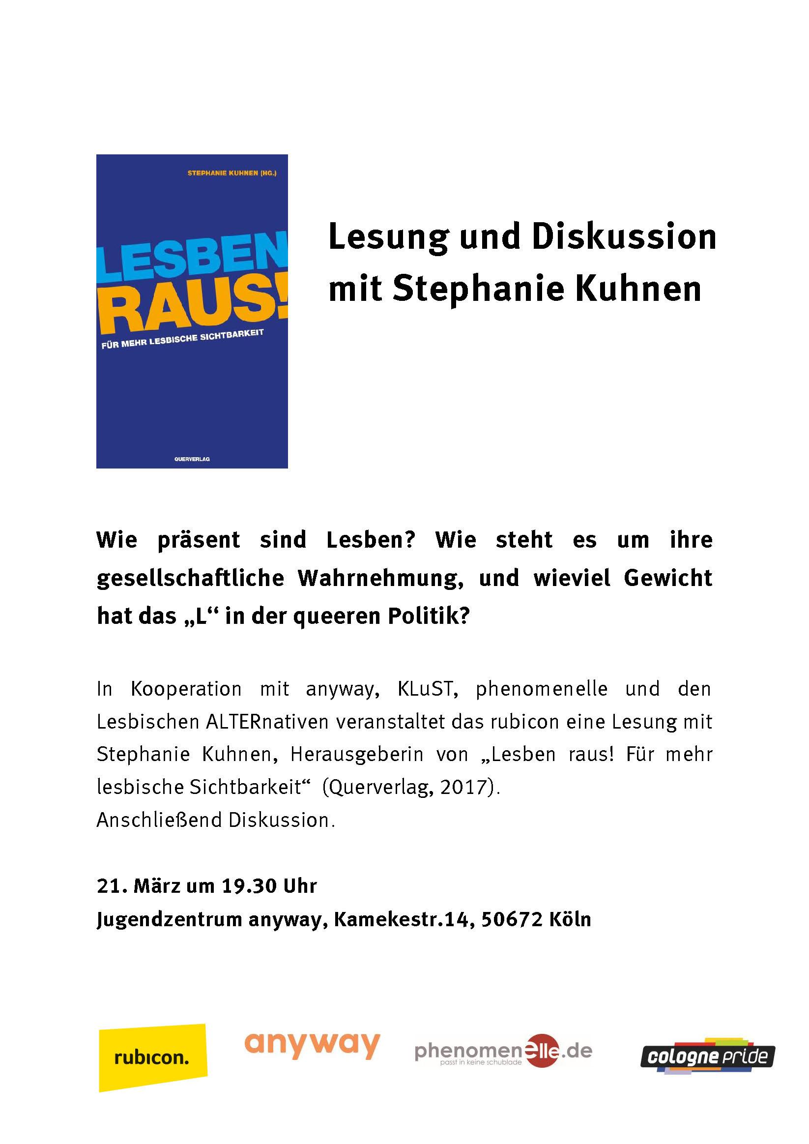 Lesben raus in Köln