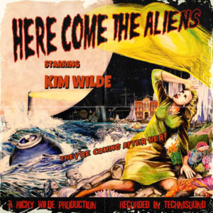 "Cover CD ""Here come the aliens"", Fotocredit © earMUSIC"